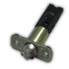 Chrome Ball Knob Latch Bolt