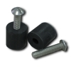 Bypass Rubber Door Stop Screw